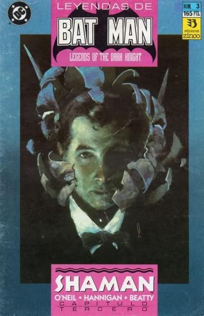 Cover for Batman: Leyendas (Zinco, 1990 series) #3