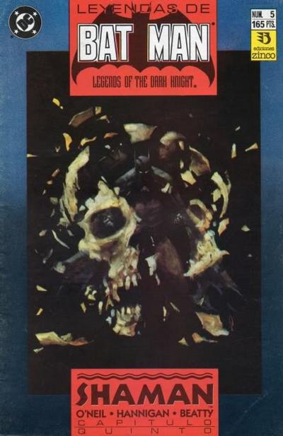 Cover for Batman: Leyendas (Zinco, 1990 series) #5