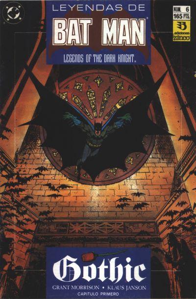 Cover for Batman: Leyendas (Zinco, 1990 series) #6