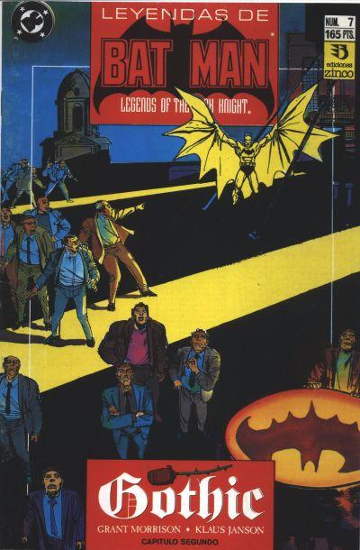 Cover for Batman: Leyendas (Zinco, 1990 series) #7