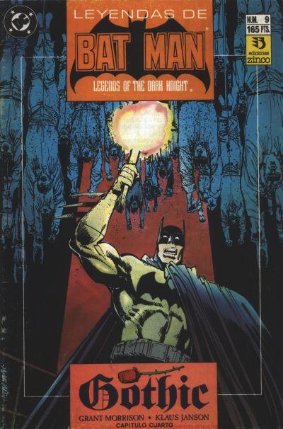 Cover for Batman: Leyendas (Zinco, 1990 series) #9