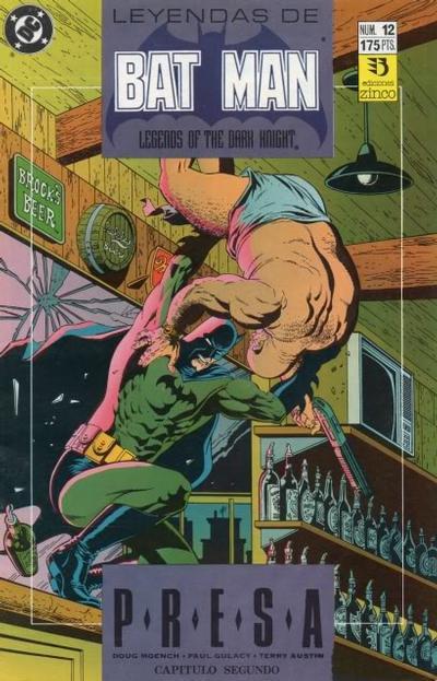 Cover for Batman: Leyendas (Zinco, 1990 series) #12