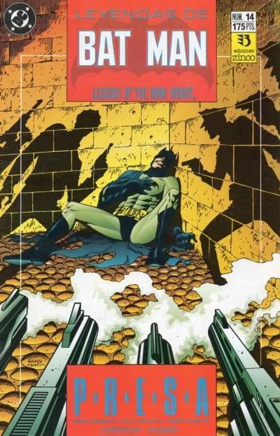 Cover for Batman: Leyendas (Zinco, 1990 series) #14