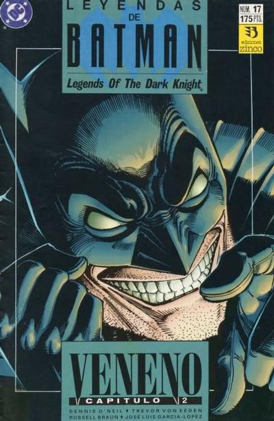 Cover for Batman: Leyendas (Zinco, 1990 series) #17