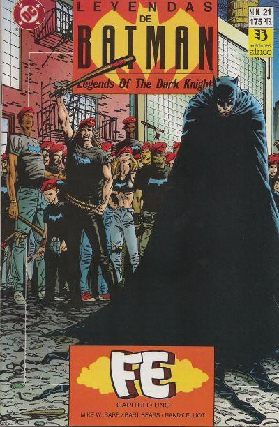 Cover for Batman: Leyendas (Zinco, 1990 series) #21