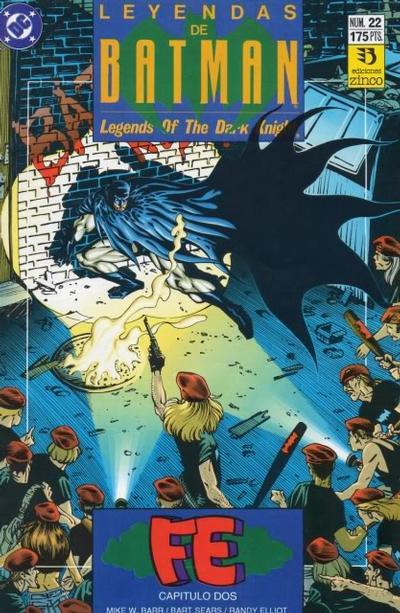 Cover for Batman: Leyendas (Zinco, 1990 series) #22