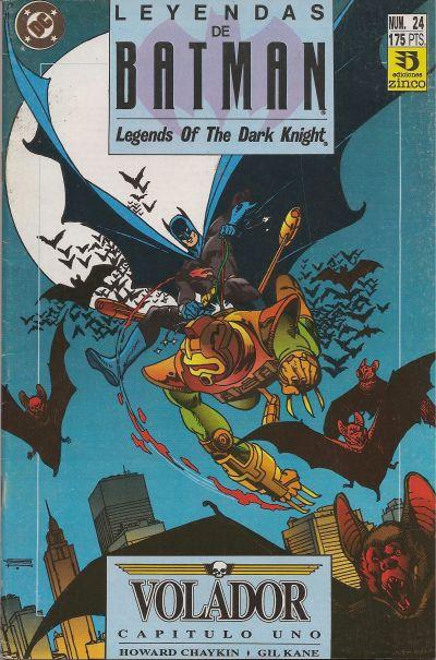 Cover for Batman: Leyendas (Zinco, 1990 series) #24