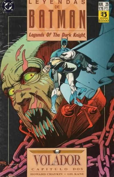 Cover for Batman: Leyendas (Zinco, 1990 series) #25