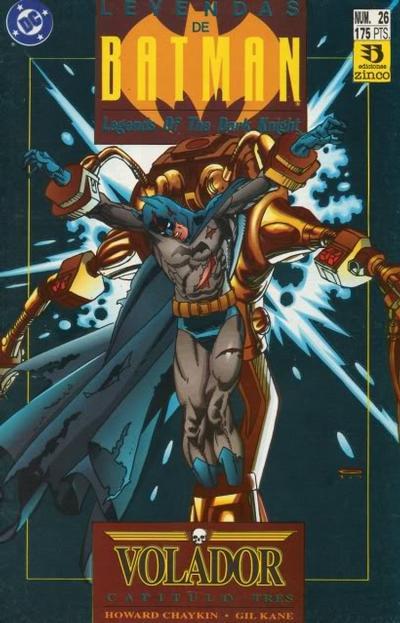 Cover for Batman: Leyendas (Zinco, 1990 series) #26