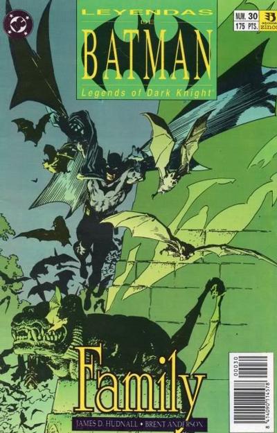 Cover for Batman: Leyendas (Zinco, 1990 series) #30