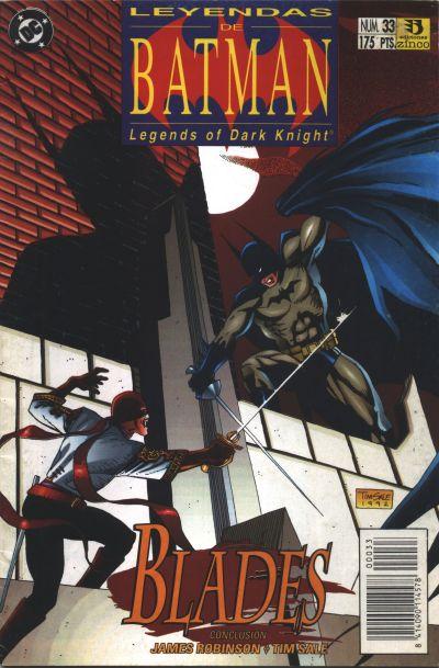 Cover for Batman: Leyendas (Zinco, 1990 series) #33