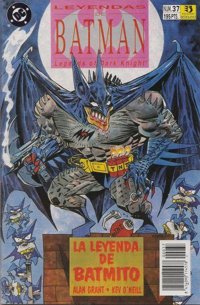 Cover for Batman: Leyendas (Zinco, 1990 series) #37