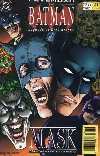Cover for Batman: Leyendas (Zinco, 1990 series) #38