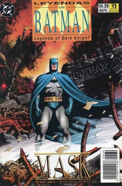 Cover for Batman: Leyendas (Zinco, 1990 series) #39