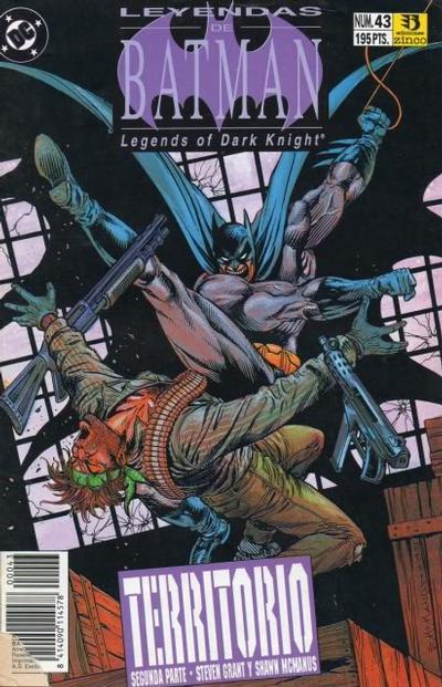 Cover for Batman: Leyendas (Zinco, 1990 series) #43