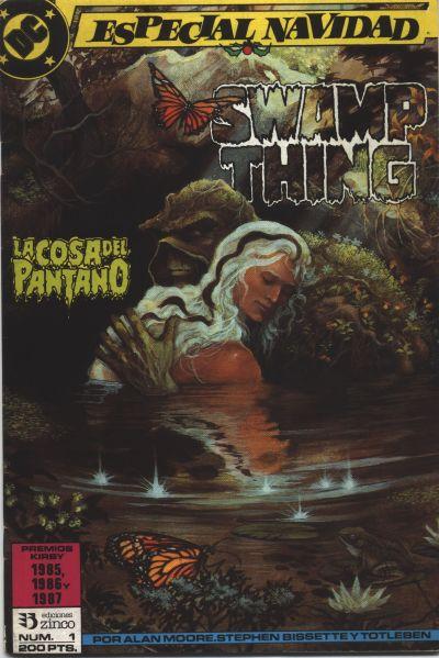 Cover for La Cosa del pantano (Zinco, 1988 series) #1