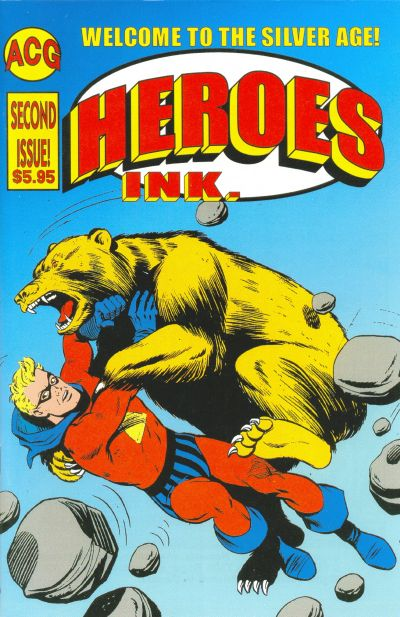 Cover for Heroes Ink. (Avalon Communications, 2000 series) #2