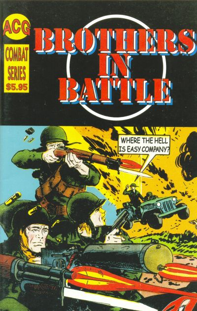 Cover for Brothers in Battle (Avalon Communications, 2001 series) #1