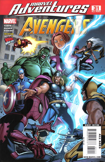 Cover for Marvel Adventures The Avengers (Marvel, 2006 series) #31