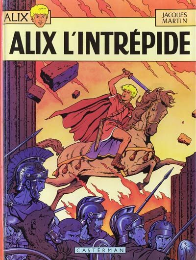 Cover for Alix (Casterman, 1965 series) #1 [1973]