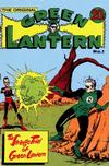 Cover for The Original Green Lantern (K. G. Murray, 1974 series) #1