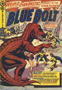 Cover Thumbnail for Blue Bolt (Star Publications, 1949 series) #107