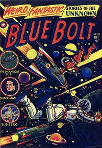 Cover Thumbnail for Blue Bolt (Star Publications, 1949 series) #108