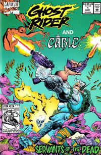 Cover Thumbnail for Ghost Rider and Cable: Servants of the Dead (Marvel, 1992 series)  [Direct Edition]