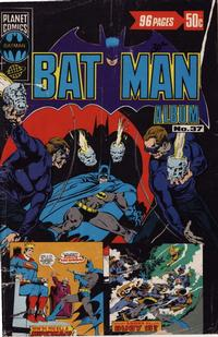 Cover Thumbnail for Batman Album (K. G. Murray, 1976 series) #37