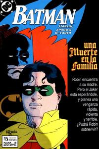 Cover Thumbnail for Batman [Batman Una muerte en la Familia] (Zinco, 1989 series) #2
