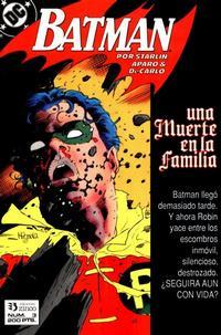 Cover Thumbnail for Batman [Batman Una muerte en la Familia] (Zinco, 1989 series) #3
