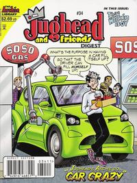 Cover Thumbnail for Jughead & Friends Digest Magazine (Archie, 2005 series) #34 [Direct]
