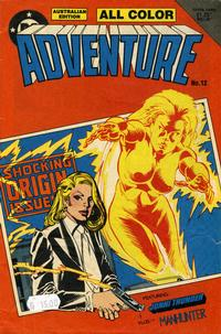 Cover for Adventure (Federal, 1983 series) #12
