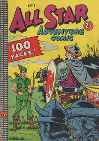 Cover Thumbnail for All Star Adventure Comic (K. G. Murray, 1959 series) #1