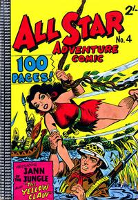 Cover Thumbnail for All Star Adventure Comic (K. G. Murray, 1959 series) #4