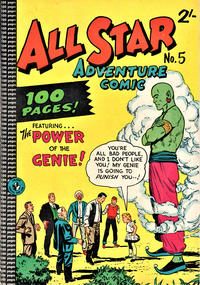 Cover Thumbnail for All Star Adventure Comic (K. G. Murray, 1959 series) #5