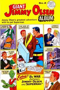 Cover Thumbnail for Giant Jimmy Olsen Album (K. G. Murray, 1966 ? series) #2