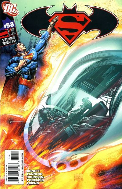 Cover for Superman / Batman (DC, 2003 series) #58