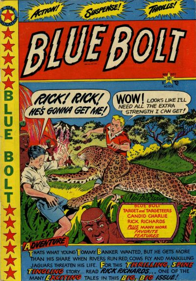 Cover for Blue Bolt (Star Publications, 1949 series) #102
