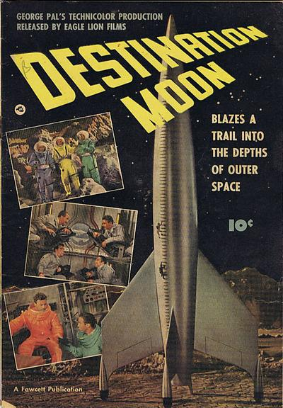 Cover for Destination Moon (Export Publishing, 1950 series) #[nn]