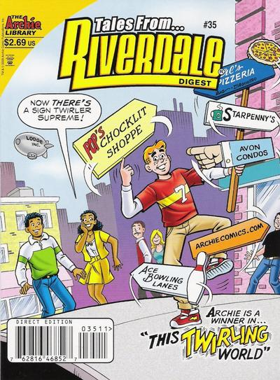 Cover for Tales from Riverdale Digest (Archie, 2005 series) #35 [Direct]
