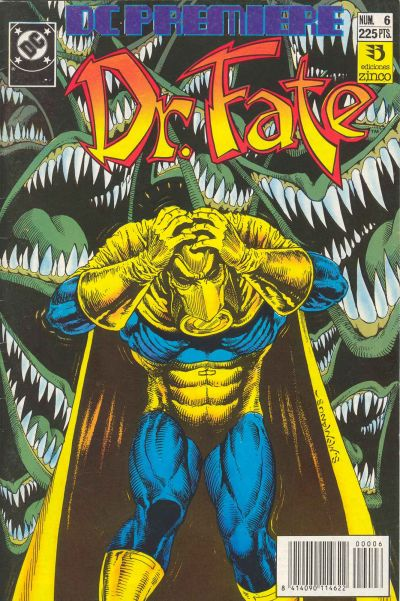 Cover for DC Premiere (Zinco, 1990 series) #6