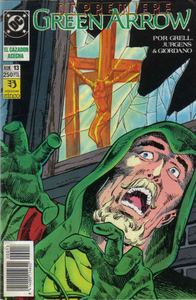 Cover for DC Premiere (Zinco, 1990 series) #13