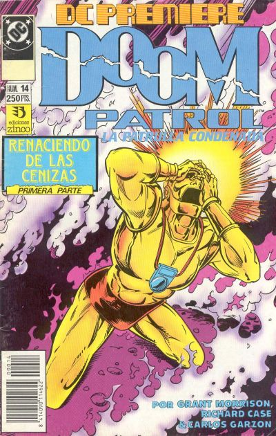 Cover for DC Premiere (Zinco, 1990 series) #14