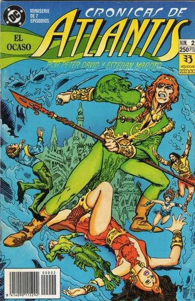 Cover for Las Crónicas de Atlantis (Zinco, 1991 series) #2