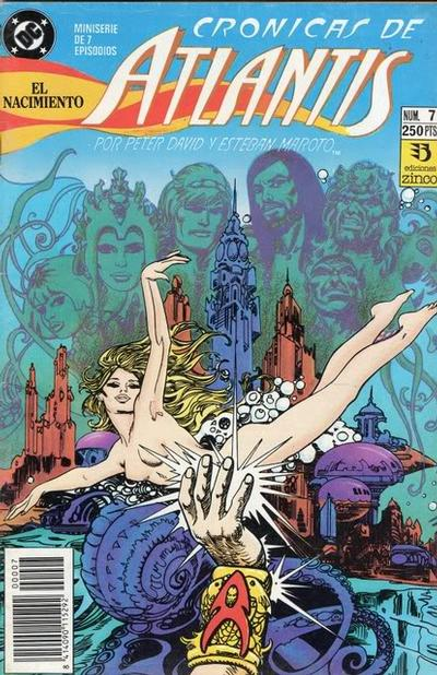 Cover for Las Crónicas de Atlantis (Zinco, 1991 series) #7