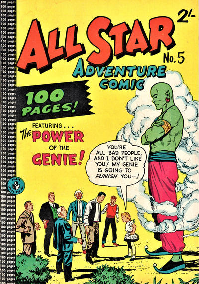 Cover for All Star Adventure Comic (K. G. Murray, 1959 series) #5