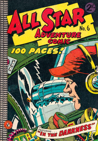 Cover for All Star Adventure Comic (K. G. Murray, 1959 series) #6