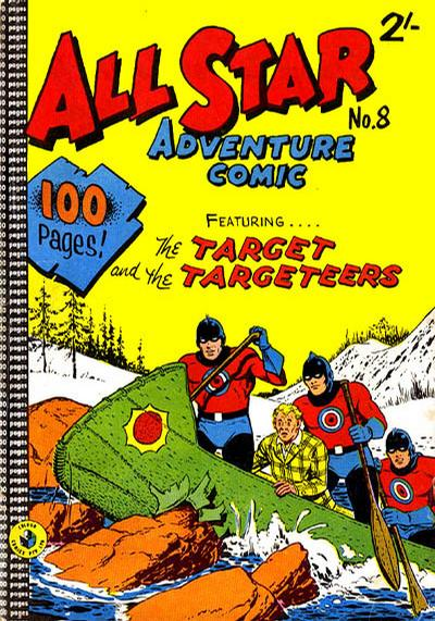 Cover for All Star Adventure Comic (K. G. Murray, 1959 series) #8