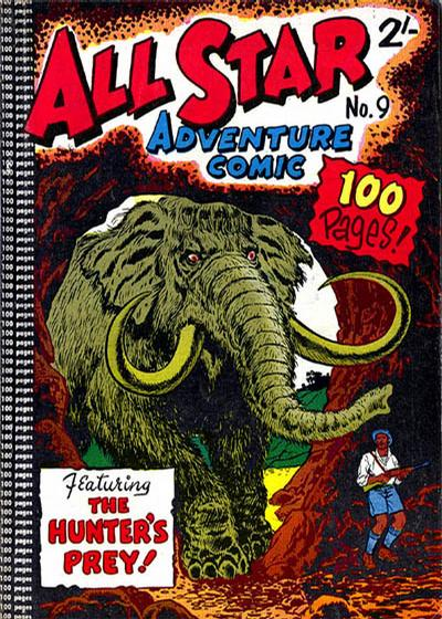 Cover for All Star Adventure Comic (K. G. Murray, 1959 series) #9